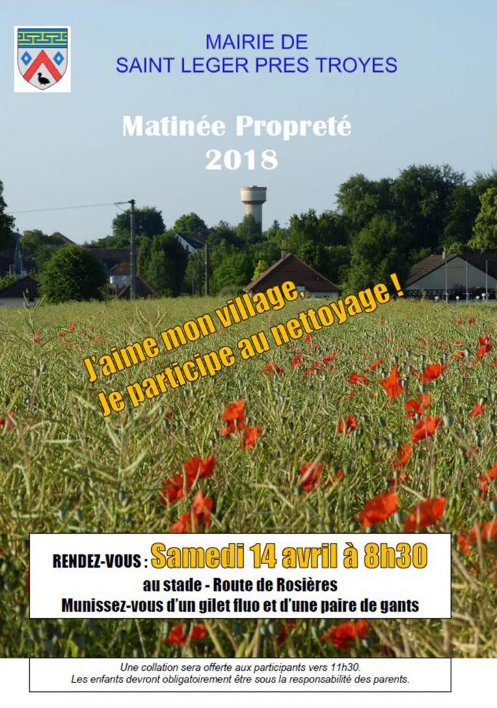 Matinée Propreté 2018